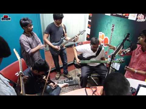 Tata Docomo Red Bandstand - Wedesi singing 'Awaari' at the studio