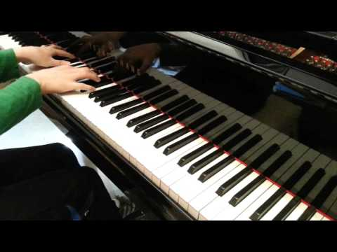 raindrop flower 피아노 편곡 by.김요셉