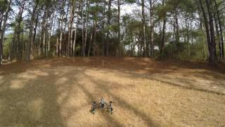 DJI Inspire 1 agility and speed test