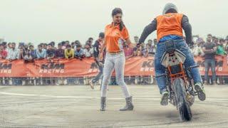 ktm duke & ktm rc200 stunts- Pro guyz India 2017