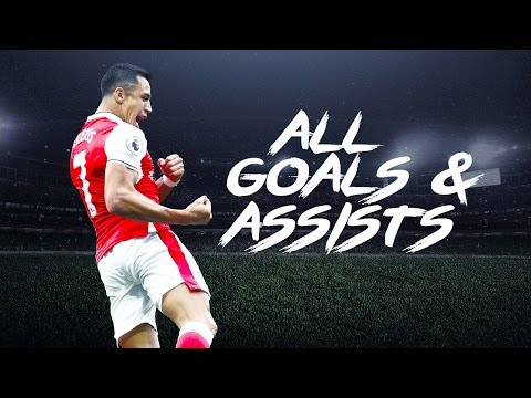Alexis Sanchez - ALL 93 Goals & Assists For Arsenal