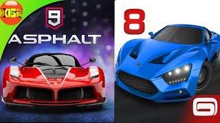 OMG! Asphalt 9 legends is here! Asphalt 8 airborn vs Asphalt 9 legends! Whats new? Which is better?