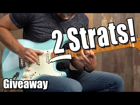2 Strats GIVEAWAY 🎸 - Erich Visits Carter Vintage Guitars in Nashville