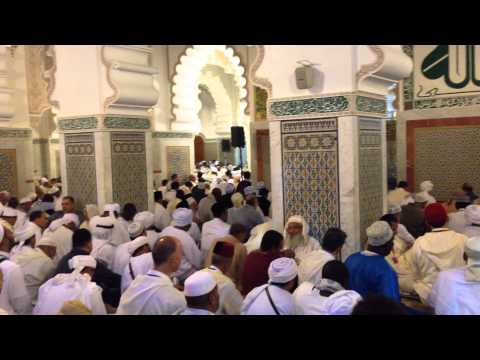 Ḥaḍarat al-Jumʿah - Hailalah - Fez, Morocco - World Tijaniyya Conference, May 2014