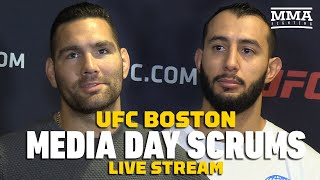 UFC Boston Media Day Live Stream - MMA Fighting