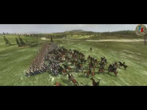 empire total war Colonialism 1600AD Swedish VS Russia 10000 VS 20000