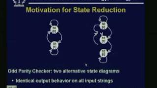 Lecture - 25 Finite State Machine Design and Optimization