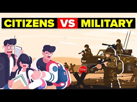 Could The US Citizens Fight Off The US Military?