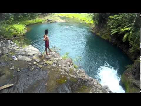 Tipuan Falls - Cliff Jumping  Llavac Real, Quezon 2016