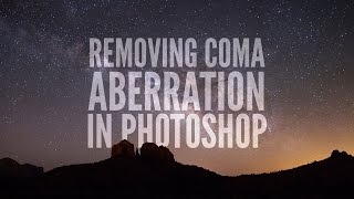 Removing Coma Aberration in Photoshop: Astrophotography Tutorial thumbnail