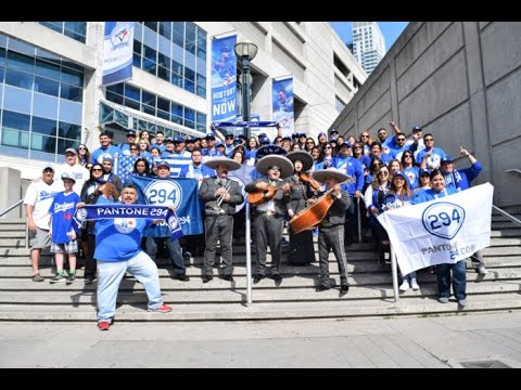 Dodgers vs Blue Jays 5/7/16 Pantone294 Trip to Toronto