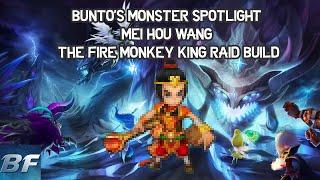 Summoners war - Bunto's monster Spotlight Mei Hou Wang the Fire Monkey King