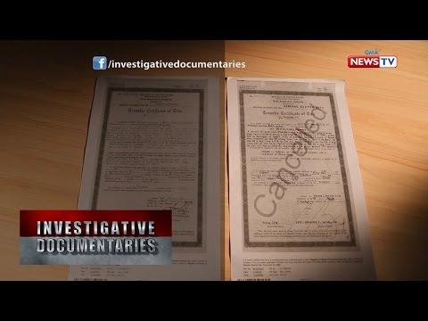 Investigative Documentaries: Pekeng titulo, ginamit para kumubra umano ng bilyong piso mula sa DPWH