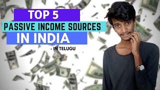 5 BEST WAYS TO MAKE MONEY ONLINE IN TELUGU 2020: 5 ZERO INVESTMENT Passive Income Ideas In Telugu