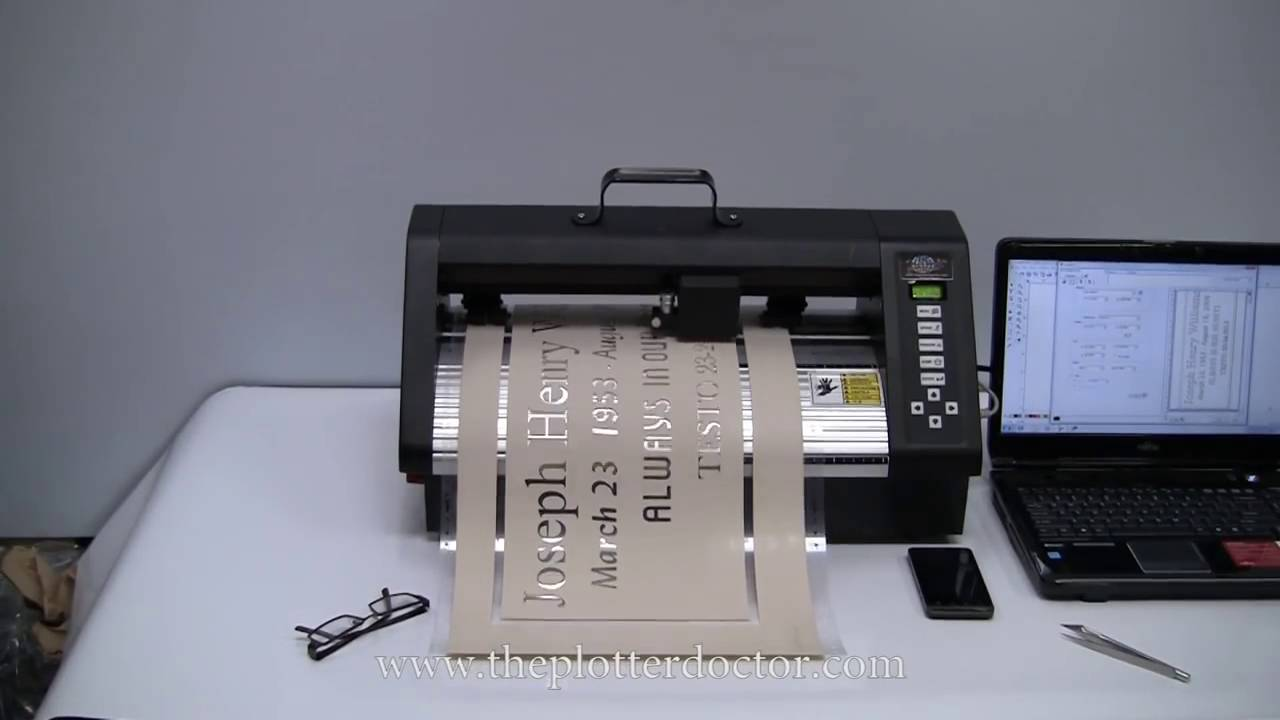 Natural Stone Engraving - Video 10 of 15 - Portable Sandblast Stencil Cutter
