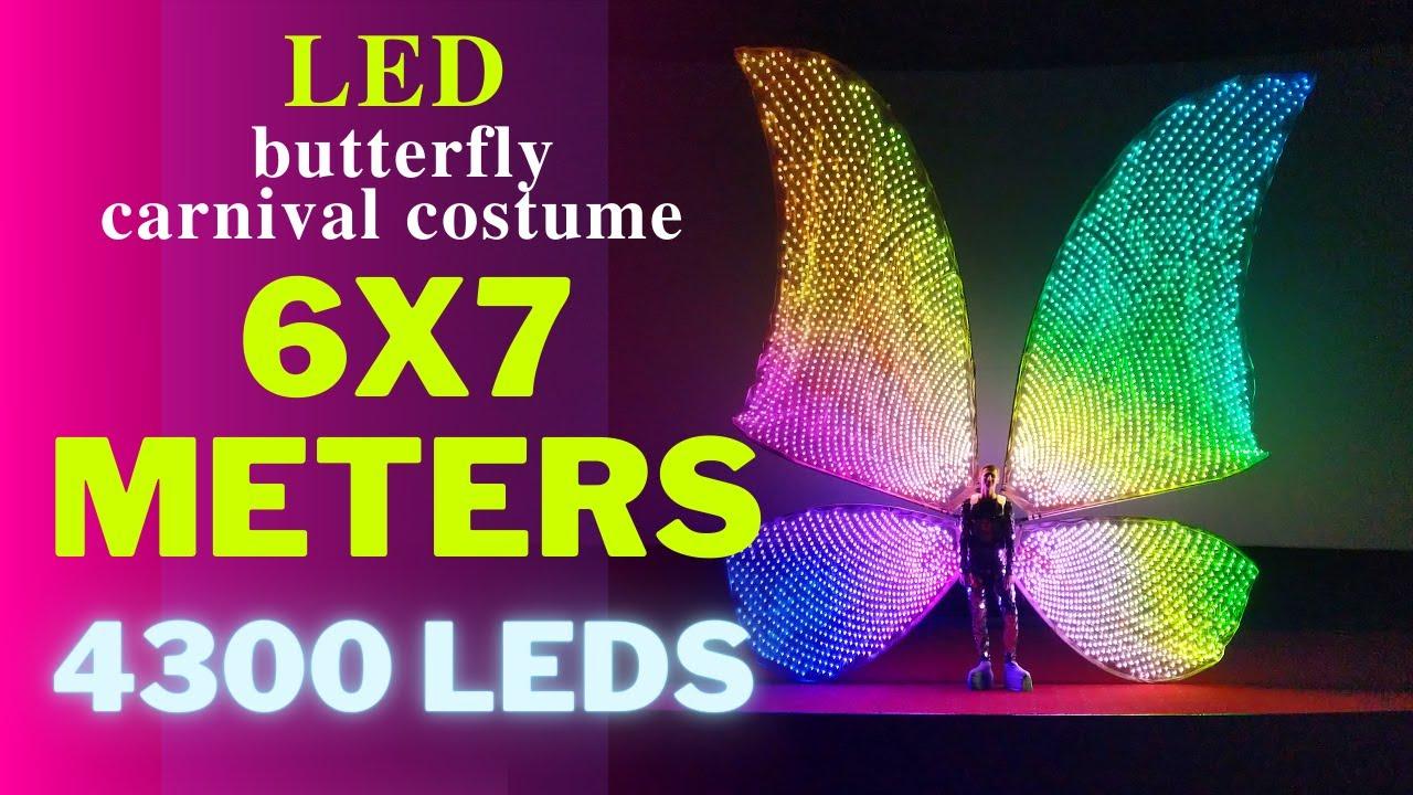 Giant Smart Pixel Butterfly Wings by ETERESHOP