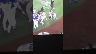 Yasiel Puig FIGHTS Nick Hundley (Giants & Dodgers) EXCLUSIVE ANGLE (8/14)