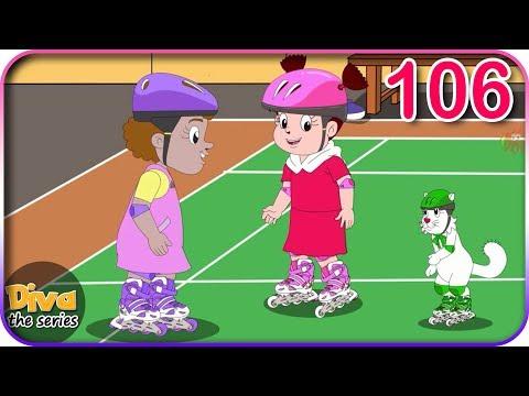 Seri Diva | Eps 106 Bermain Sepatu Roda | Diva The Series Official