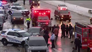 Police scene unfolding on Detroit's west side