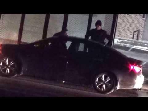 Brooklyn Park Police DWI Traffic Stop & Field Sobriety Test on West Broadway - Feb  8th, 2015 3:55am