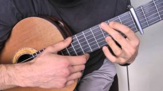 Tuto guitare - Les Champs-Élysées (1/2) démo + grille