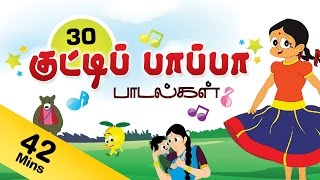 Top 10 Tamil Rhymes | Nursery Rhymes Collection | Kuttipapa Rhymes vol 3