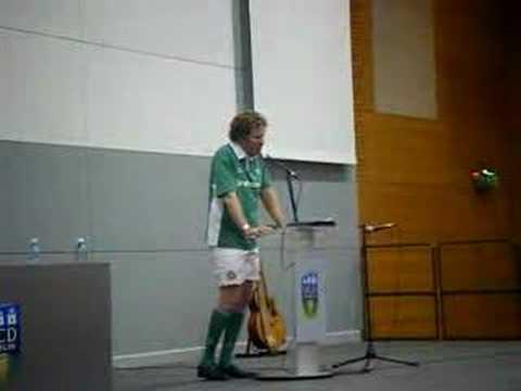Will Ferrell at UCD part 1