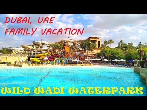 WILD WADI!! DUBAI, WATERPARK, ALL SLIDES, VLOG, АКВАПАРК ВАЙЛД ВАДИ, ДУБАЙ!!!