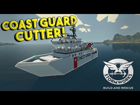 COAST GUARD CUTTER & HARBOR ISLAND! - Stormworks: Build and Rescue Update Gameplay - EP 7