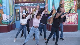 On Your Feet! Conga Lesson + Christie Prades & Nancy Ticotin  | ABC7 News Bay Area Life