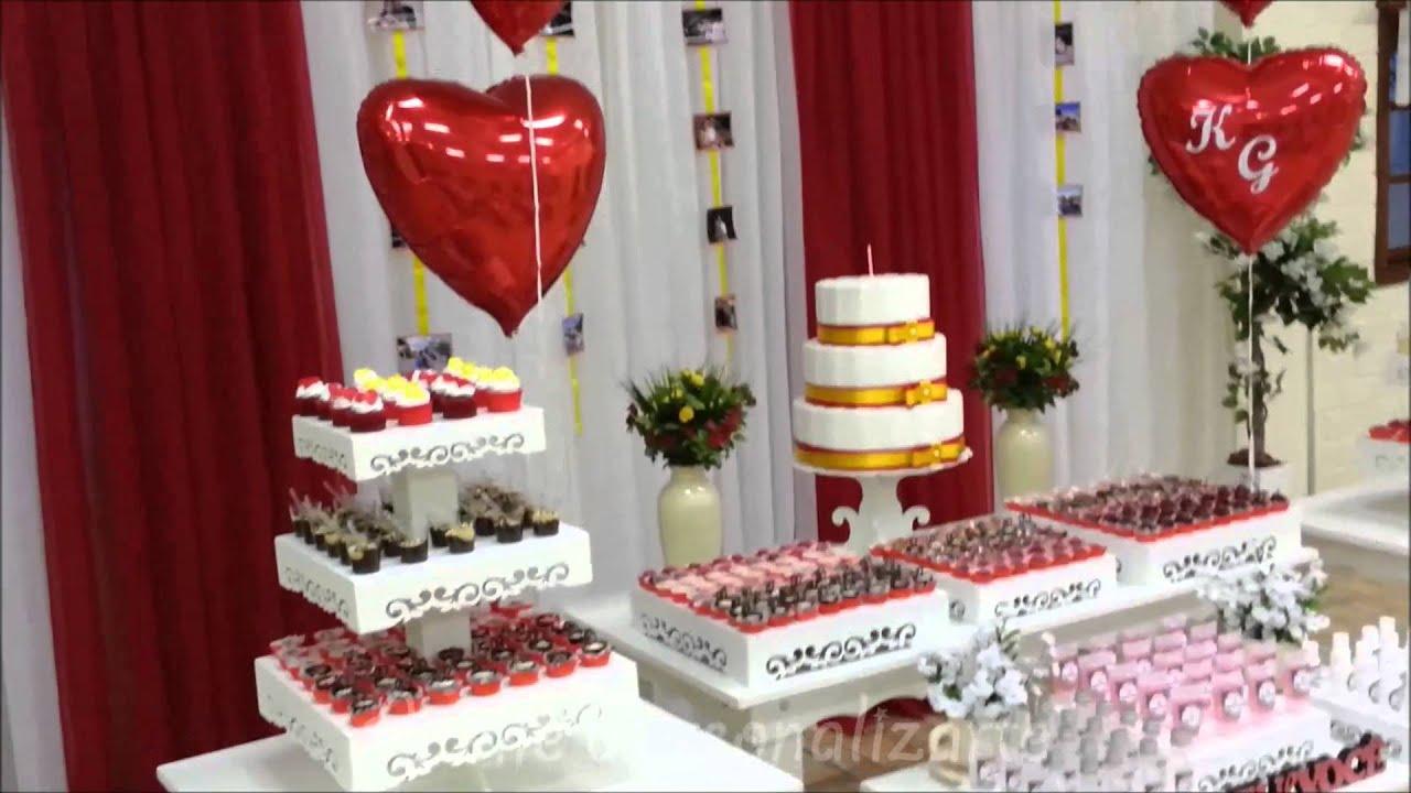 Decoraç u00e3o de festa Open House YouTube -> Decoração Festa Enfermeiro
