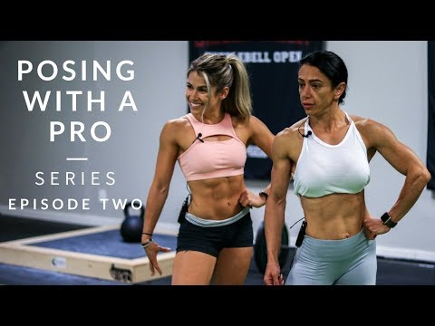 Posing with a Pro - First Time Bikini Competitor Advice Pt. 2 | Mind Pump