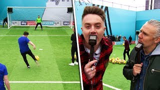 How NOT to do the Volley Challenge! | Cardiff City fans + Robbie Fowler, Roman Kemp & Yxng Bane