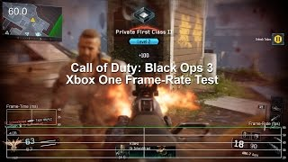 Call of Duty: Black Ops 3 Xbox One Beta Gameplay Frame-Rate Test