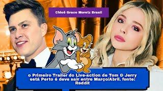 Tom and jerry: warner bros deve liberar o teaser trailer do live-action muito em breve!!. 🌻 bem vindos ao portal chloë grace moretz brasil sua melhor fonte d...