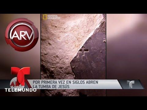 Abren supuesta tumba de Jesús en Jerusalén | Al Rojo Vivo | Telemundo