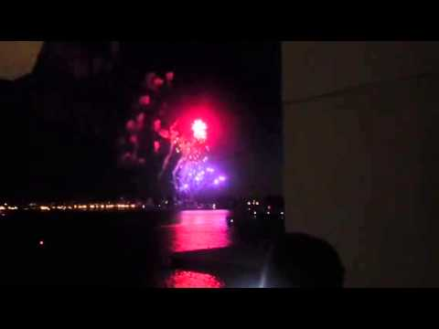 Star Wars Comic Con Fireworks Display #SDCC