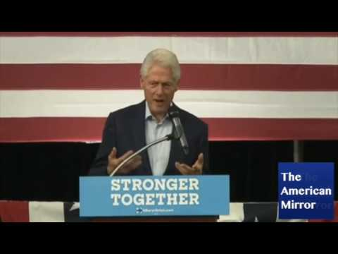 Bill Clinton: 'I've tried to run for her on her behalf'