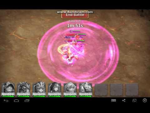 Boss 5 Strategy  (permaslow Technique) 171 Million Damage,  Castle Clash