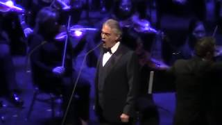Andrea Bocelli - Nessun Dorma/ Dec 6 2017/ Chicago