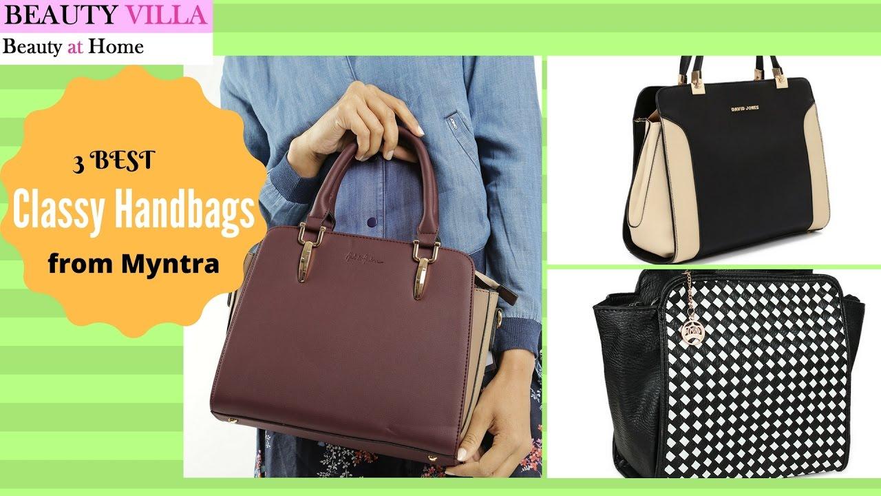3 Best Classy Handbags From Myntra