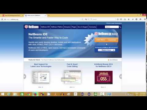 How to install the Netbeans IDE and Java JDK on Windows 8 / 8.1 or Windows 10