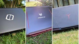 Lenovo Y720 Vs Acer Predator Helios 300 Vs Samsung Odyssey - Comparativo - Qual melhor notebook?