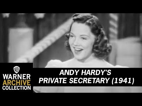 Andy Hardy's Private Secretary (Original Theatrical Trailer)