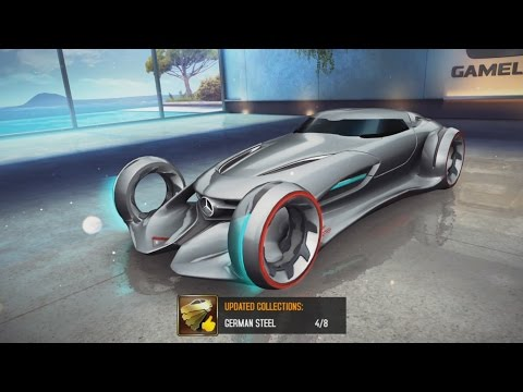 Asphalt 8 Airborne Gameplay #137 - Mercedes-Benz Silver Lightning