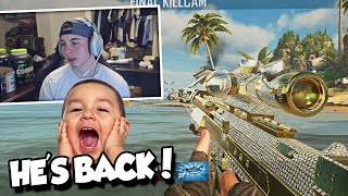 THE CUTEST KID EVER IS BACK! (BO2 Trickshotting ft. Zapzei)