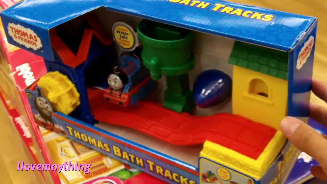 Thomas friends thomas bath tracks for kids youtube for R f bathrooms and kitchens