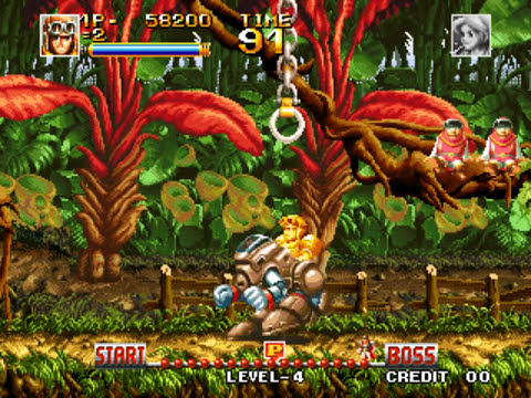 Top Hunter (Neo Geo)