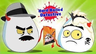 kova keitetty detektiivi | Funny Cartoons | Hard Boiled Detective | Kids Tv Suomi | Finnish Lasten