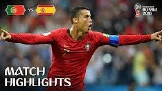 P0RTUGAl VS SPAlN 3-3 HIGHLIGHTS